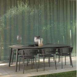 Talenti Moon Aluminium Rectangular Table