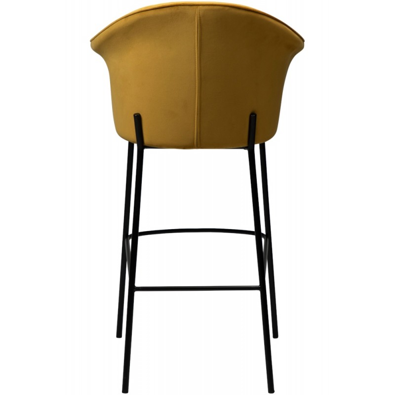 Dan-Form Kite Bar Stool Bronze Velvet