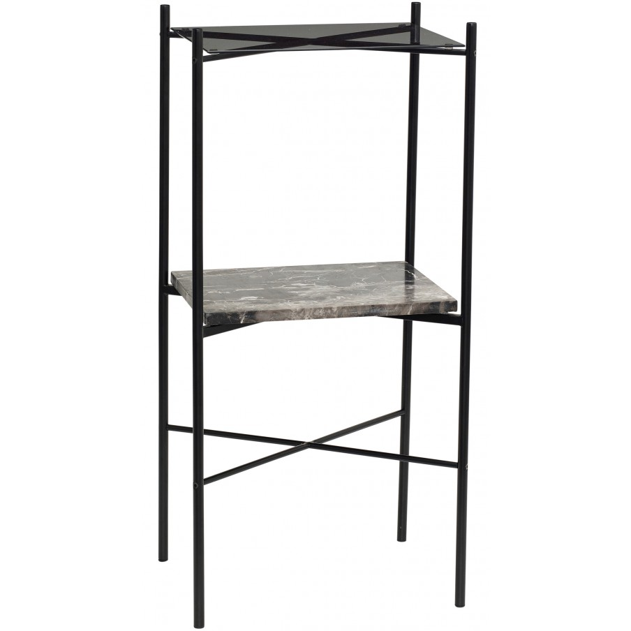 Hubsch Black Marble Console Table