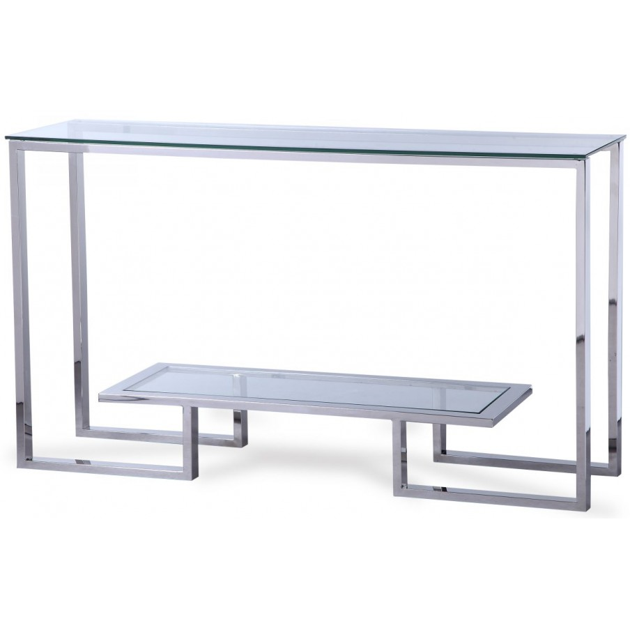 Liang & Eimil Mayfair Stainless Steel Console Table