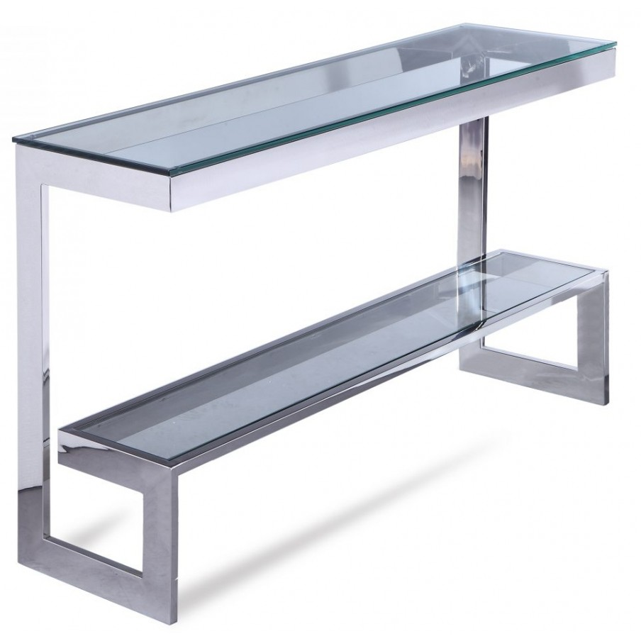 Liang & Eimil Ziggi Stainless Steel Console Table