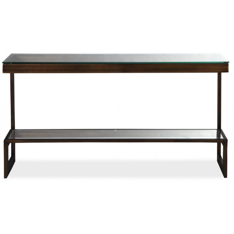 Liang & Eimil Ziggi Antique Bronze Console Table