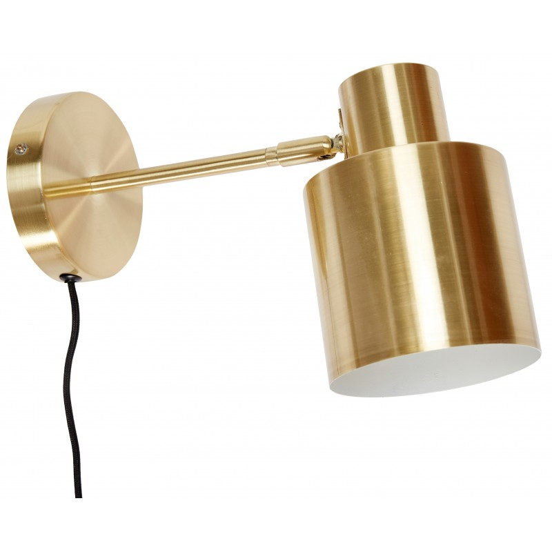 Hubsch Brass Wall Lamp