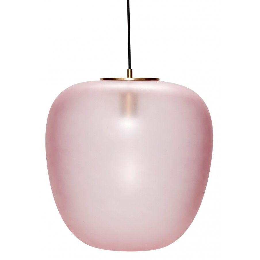 Hubsch Rose Glass Pendant Lamp