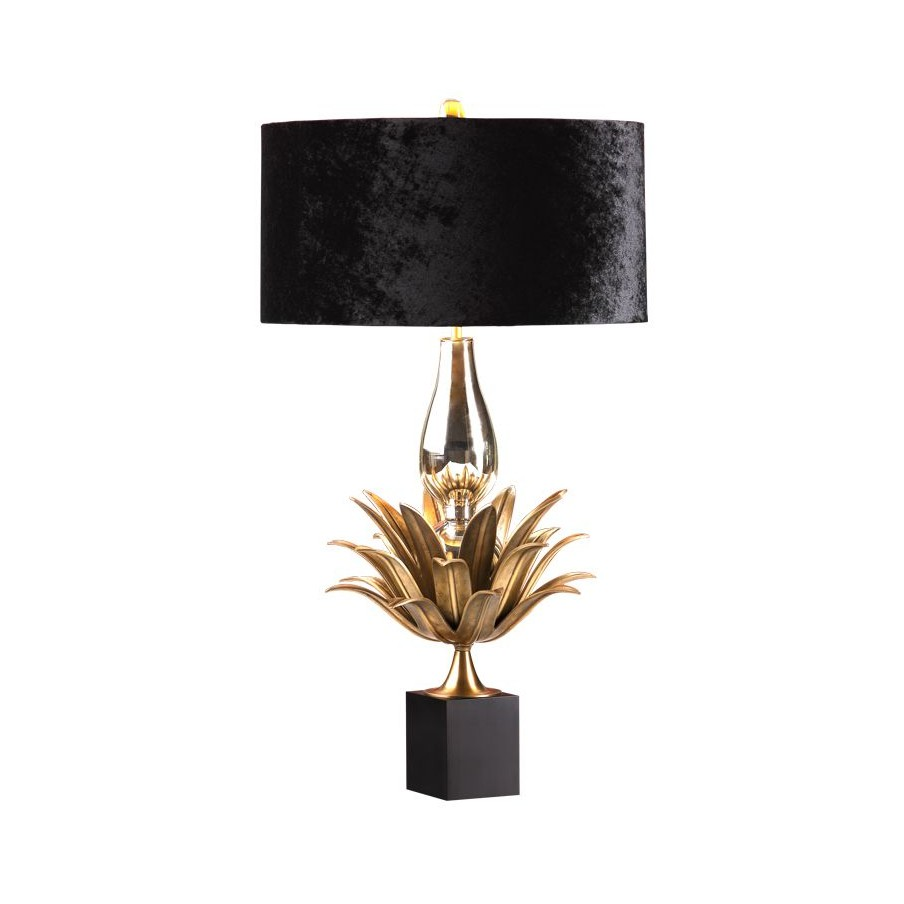 Villa Lumi Aretha Brass Table Lamp