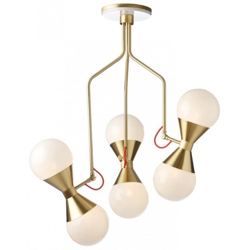 Villa Lumi Hourglass Ceiling Lamp