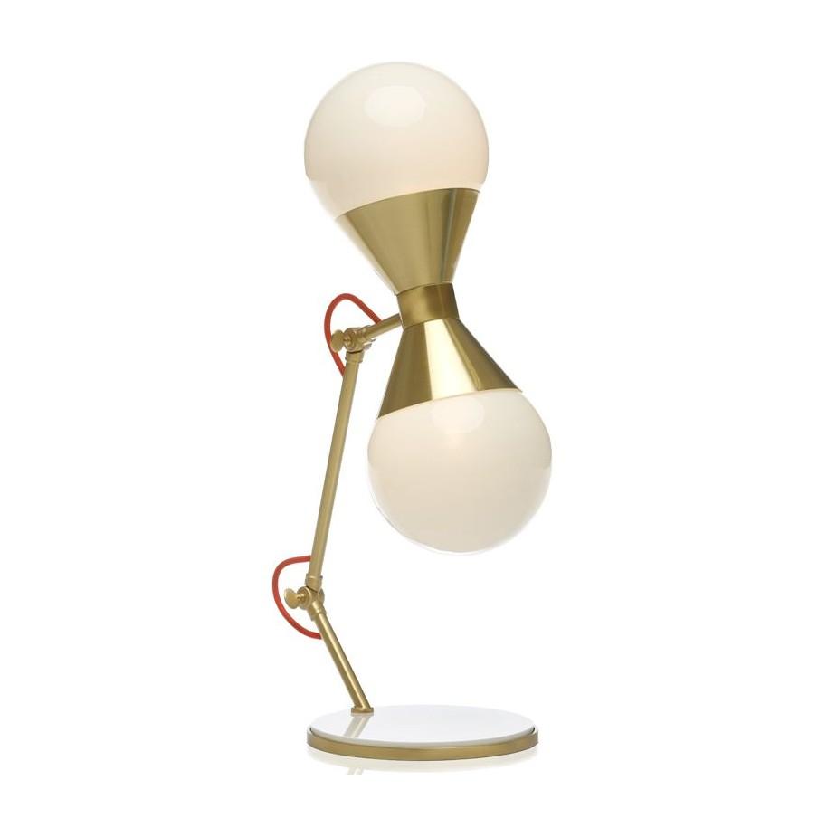 Villa Lumi Hourglass Table Lamp