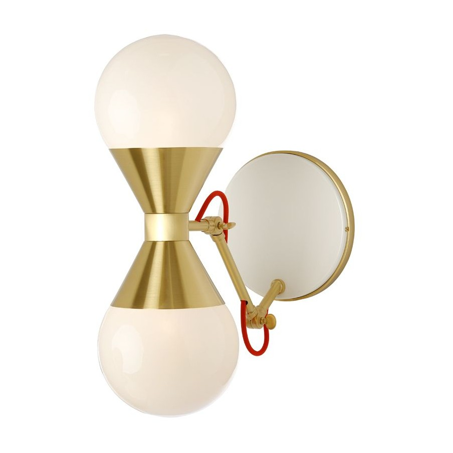 Villa Lumi Hourglass Wall Lamp