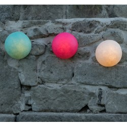 In.es-artdesign Button Out Outdoor Wall Light