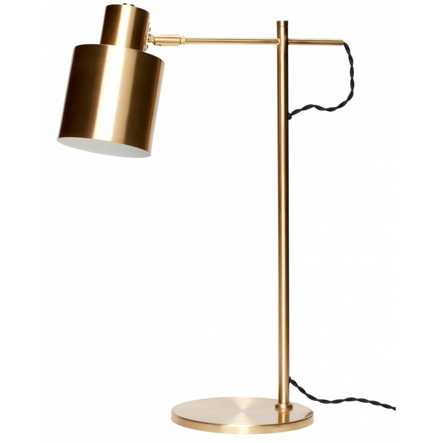 Hubsch Brass Table Lamp
