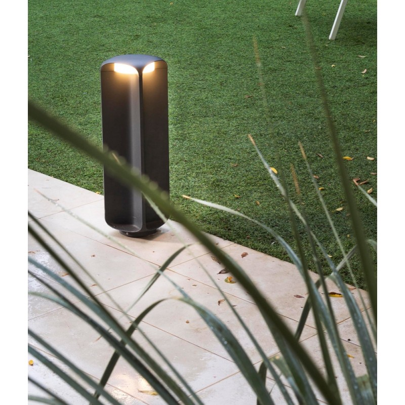 Faro Bu-Oh LED Dark Grey Beacon Lamp