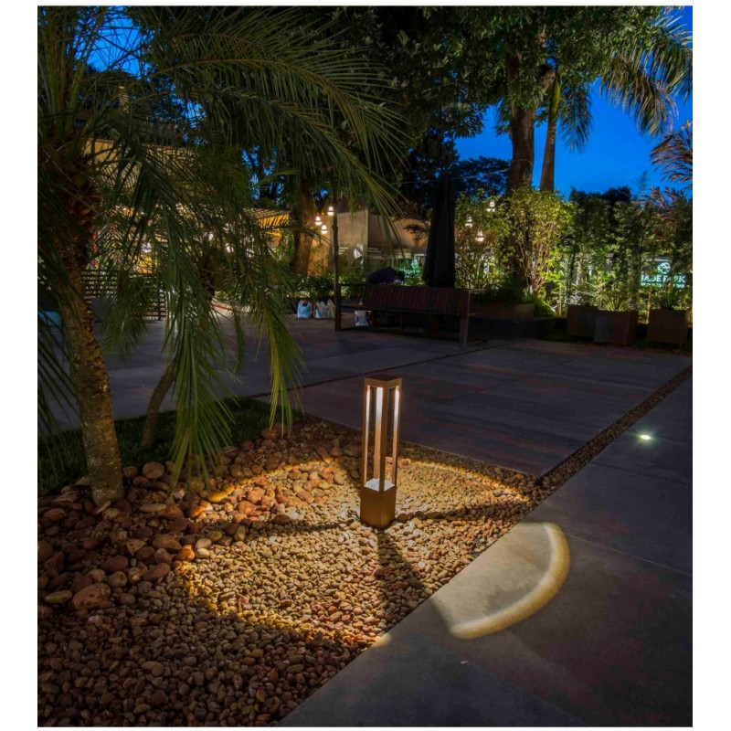 Faro Agra LED Outdoor Beacon Lamp Small