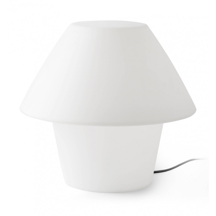 Faro VERSUS-E White Outdoor Table Lamp