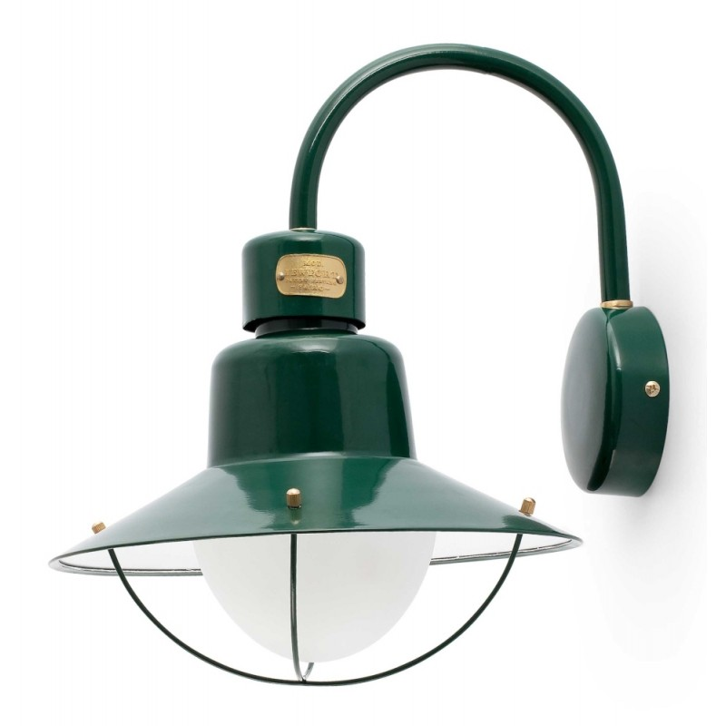 FARO Newport Outdoor Wall Lamp Green