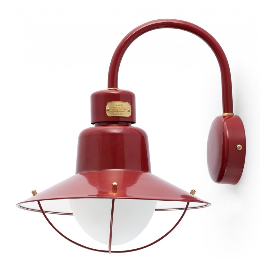 FARO NEWPORT OUTDOOR WALL LAMP Burgundy
