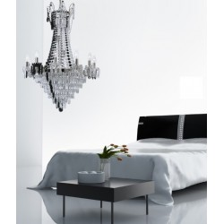 Villa Lumi Milena Glass Chandelier