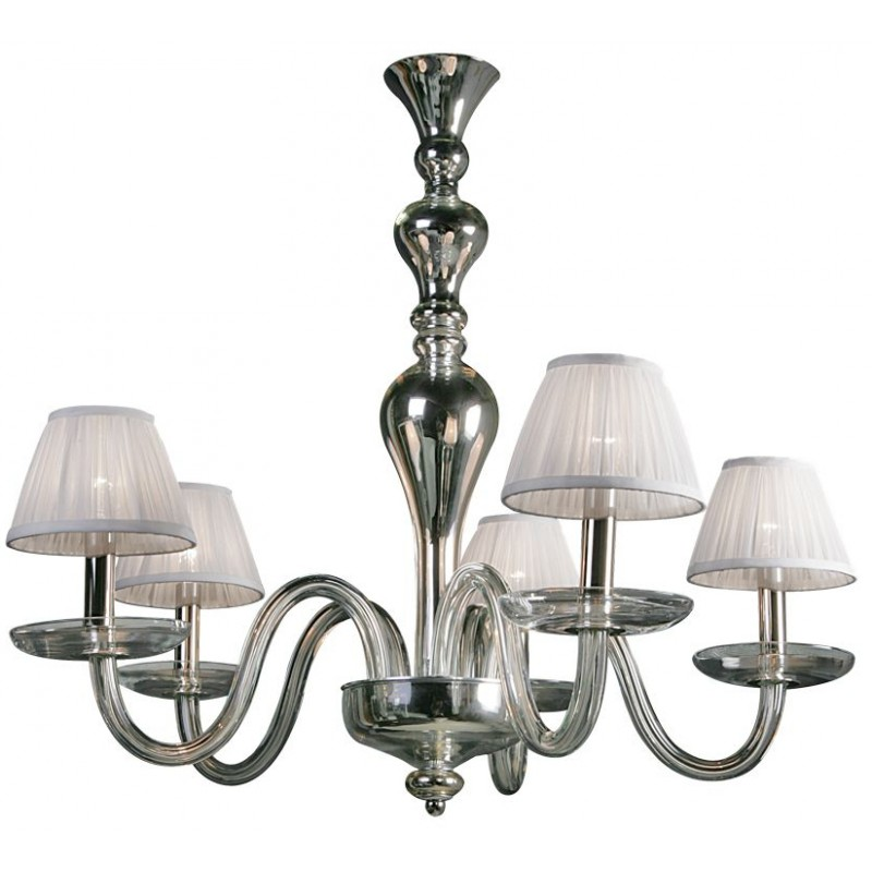 Villa Lumi Celina Glass Chandelier