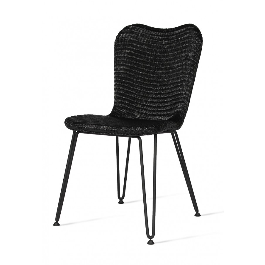 Vincent Sheppard Lilly Dining Chair with Hairpin Base