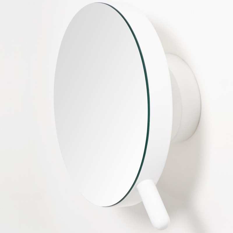Wireworks Magnifying Mirror Wall Gloss White