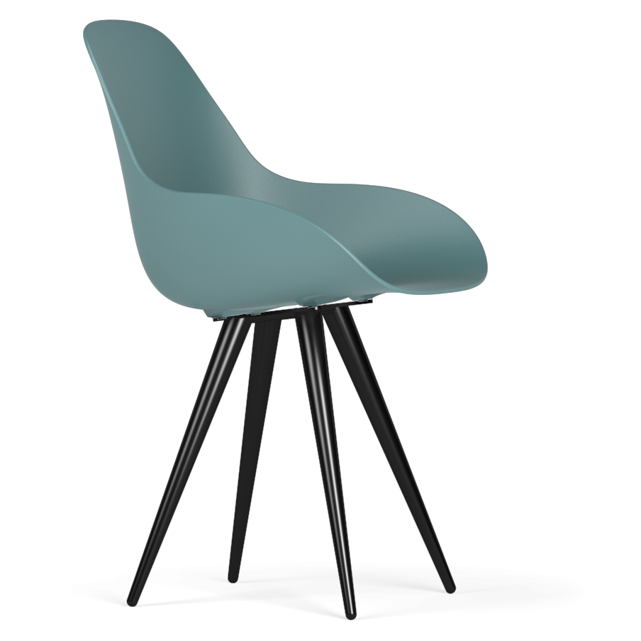 Kubikoff Dimple Closed Shell Chair