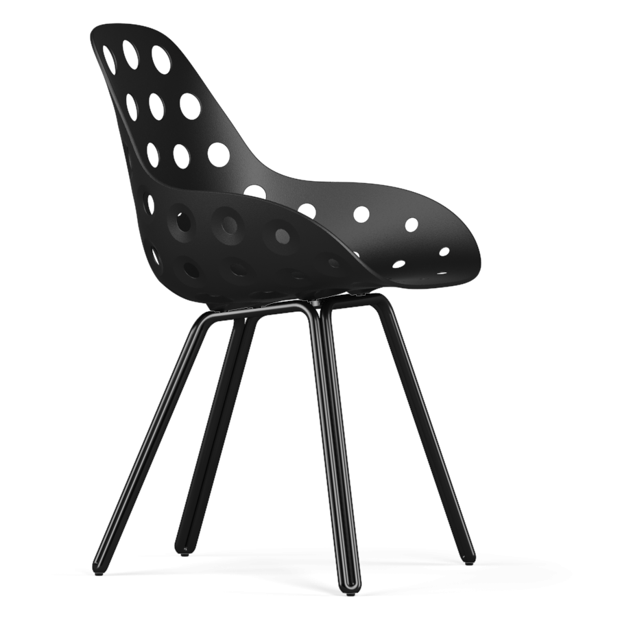 Kubikoff Double Base Dimple Chair