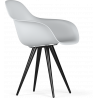 Kubikoff Black Angel Contract Base Chair with V9 Armshell