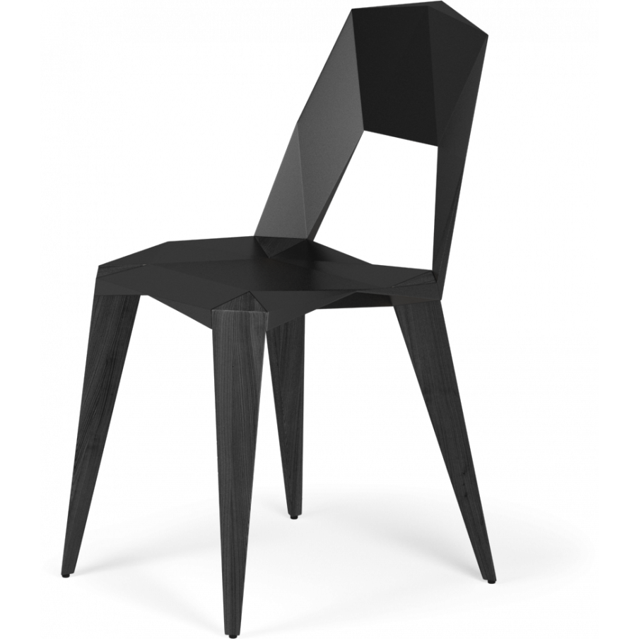 Kubikoff Pythagoras-4 Black Chair