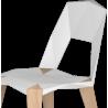 Kubikoff Pythagoras-4 Chair Black | White Structure