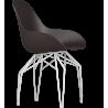 Kubikoff White Diamond Base Chair