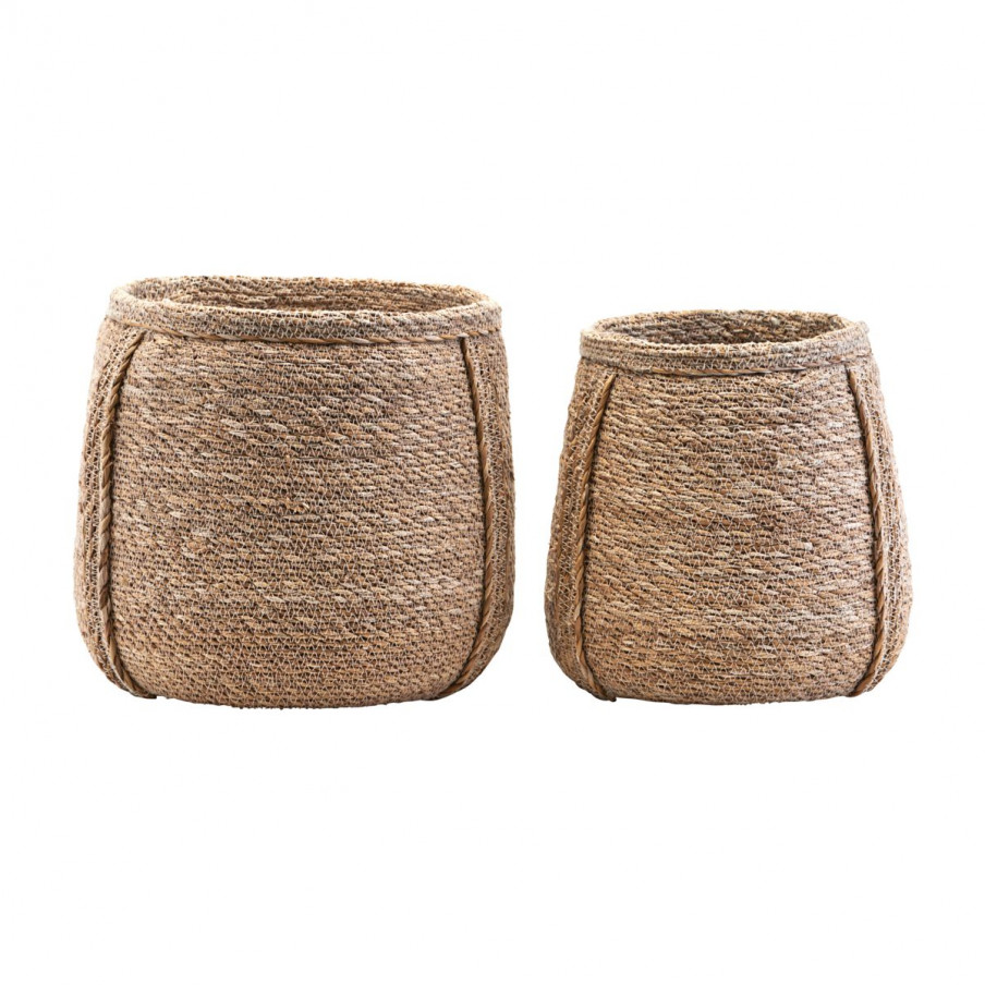House Doctor Basket Planters Set Of Two