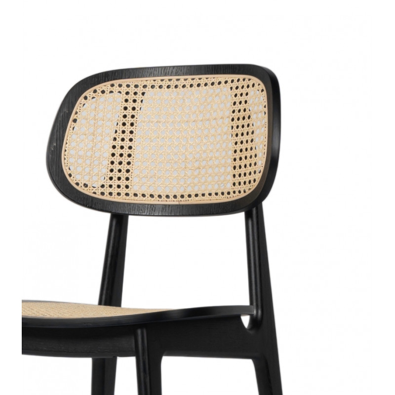 Vincent Sheppard Titus Dining Chair Black Stained Oak