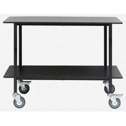 House Doctor Black Vene Trolley 100 CM