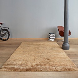 Massimo Black Hemp Tribeca Rug Natural 3 Sizes