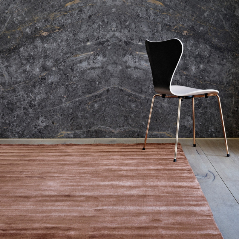 Massimo 100% Bamboo Silk Rug Copper| 6 Sizes