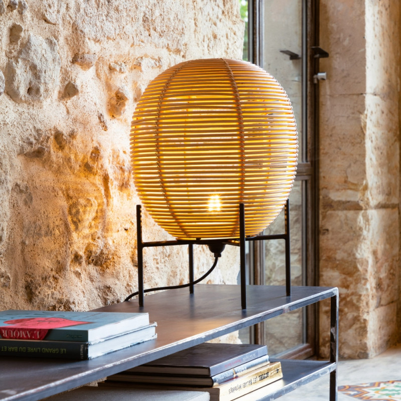 Vincent Sheppard Sari Floor/Table Lamp Rattan