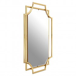 Wall Mirror with Art Deco Style Frame