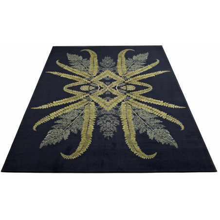 Massimo Reflection Dark Green Rug | 3 Sizes