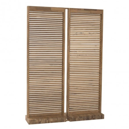 Solitude Teak Screen