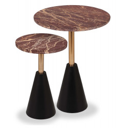 Liang & Eimil Ethan Side Tables Set of Two