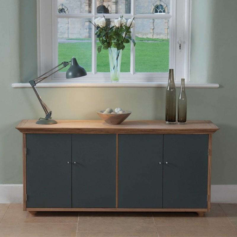 Berkeley Cottage Oak Flooring: Contemporary Solid Wood Sideboard