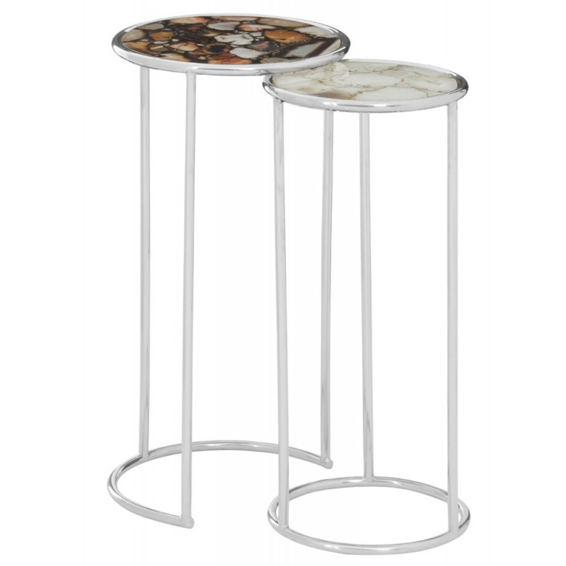 Agate Nesting Tables Set of Two