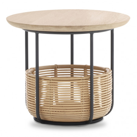 Vincent Sheppard Vivi Rattan Coffee Table 75cm