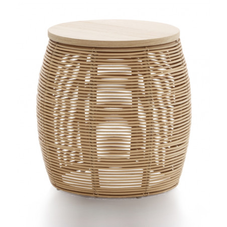 Vincent Sheppard Vivi Rattan Side Table 37cm