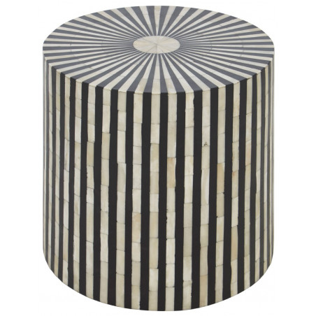 Stripes Design Side Table