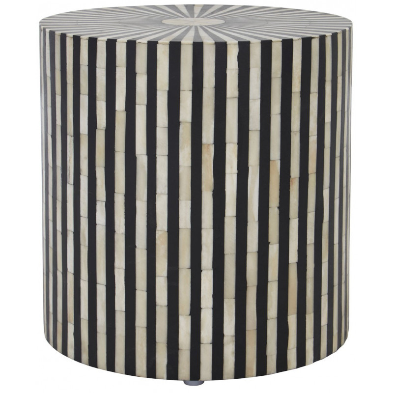 Stripes Design Side Table