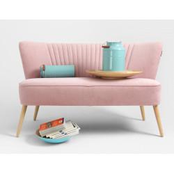 Custom Form 2 Seater Sofa Harry in Pink Meringue