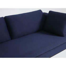 Custom Form Ambient 3 Seater Sofa in Inky