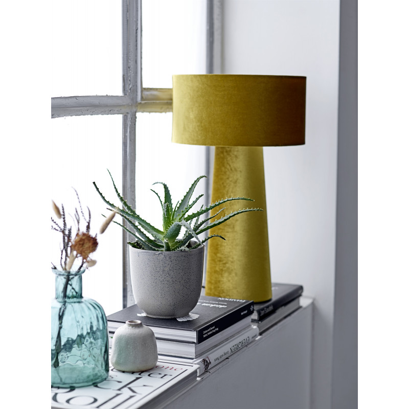 Bloomigville Table Lamp Polyester Yellow