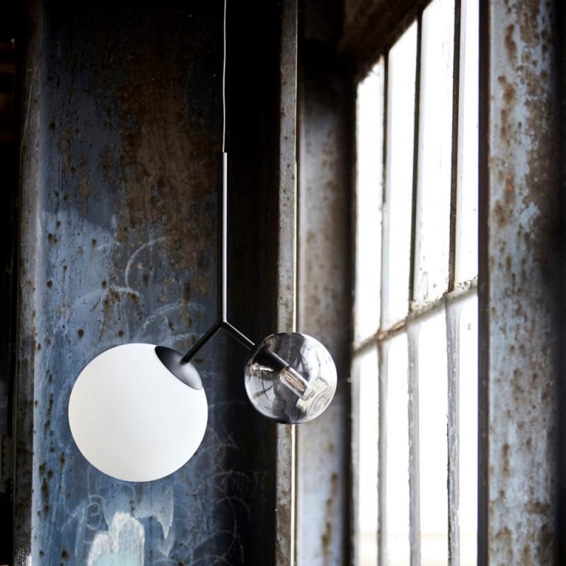 House Doctor Twice Pendant Lamp Black