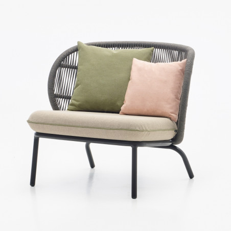 Vincent Sheppard Koro Lounge Chair With Seat Cushion